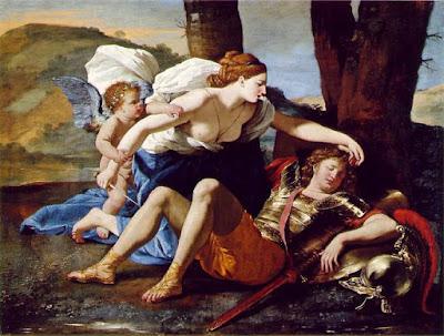 Nicolas Poussin - Rinaldo et Armida,c.1630.