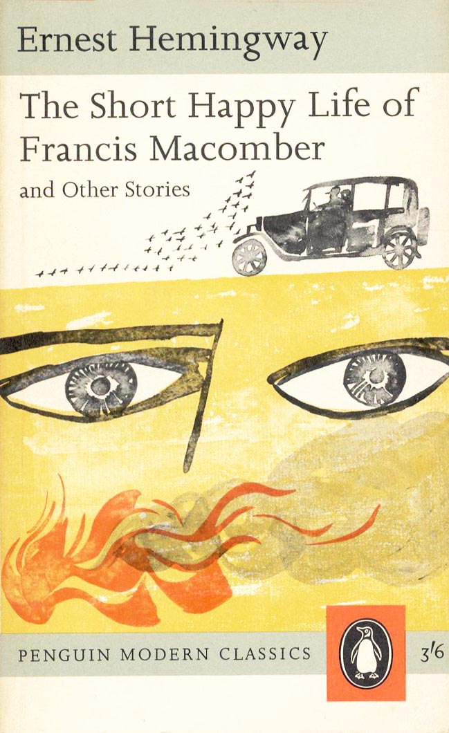 an analysis of the short happy life of francis macomber by ernest hemingway The short story is titled the short, happy life of francis macomber because of how macomber had found his manliness and courage, and was happy about it, after his successful hunting trip however, it only lasted for a brief moment before he ended up getting killed.