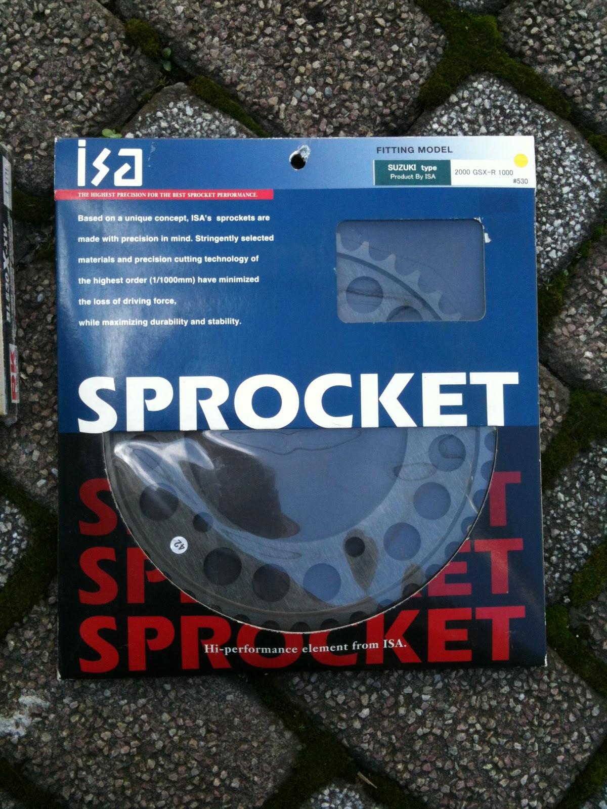 isa SPROCKET ドリブンスプロケット530-42T