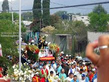 El Señor de las Tres Caidas Semana Santa 2012 en Iramuco