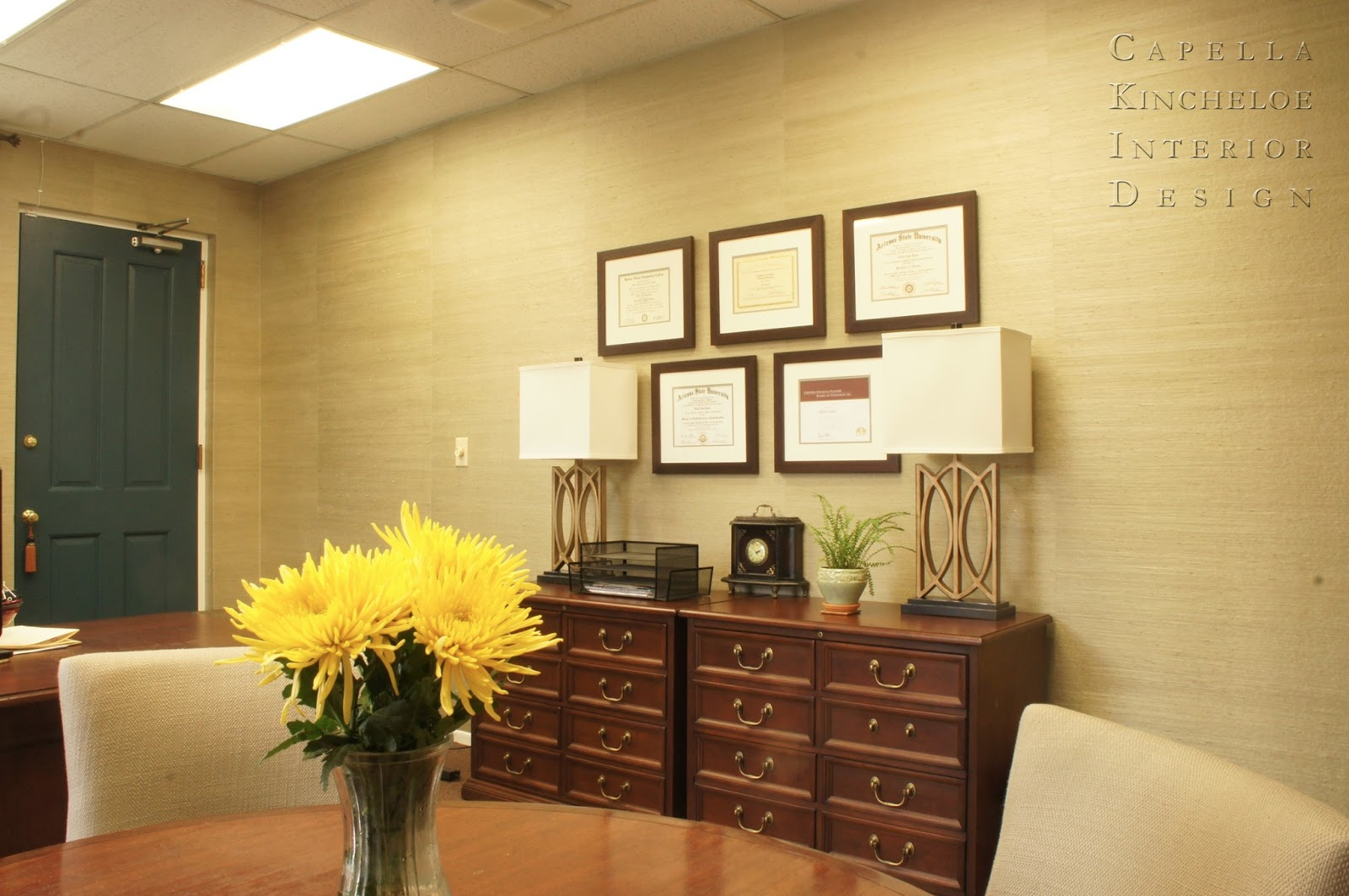 BEFORE & AFTER : EXECUTIVE OFFICE — Capella Kincheloe