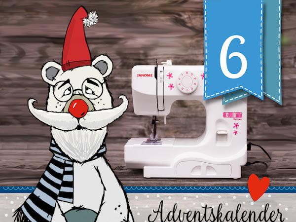 Adventskalender-Türchen Nr. 6.1 - Gewinnt eine Nähmaschine von Nähpark