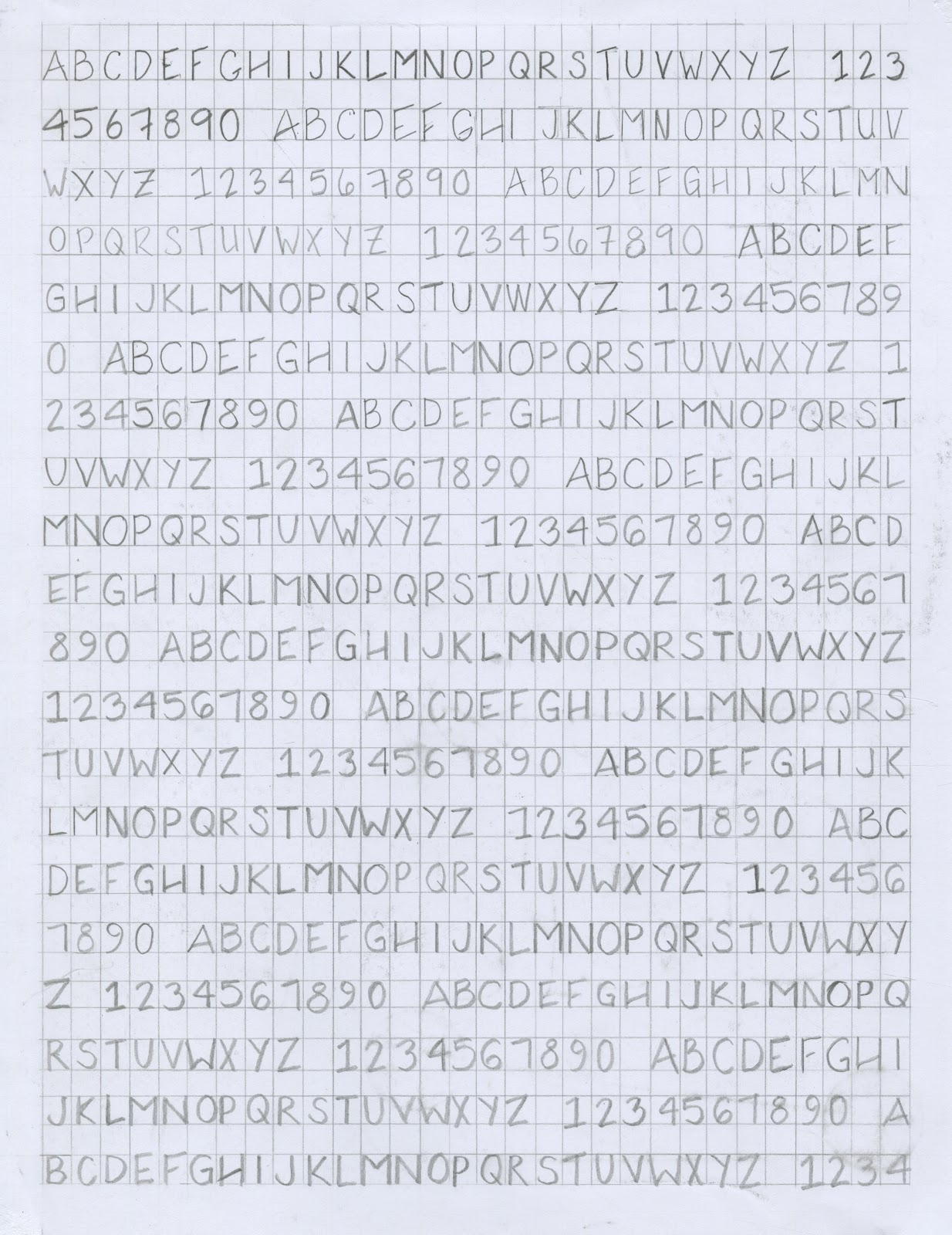 Architectural Lettering Practice Sheets Creativity & In...