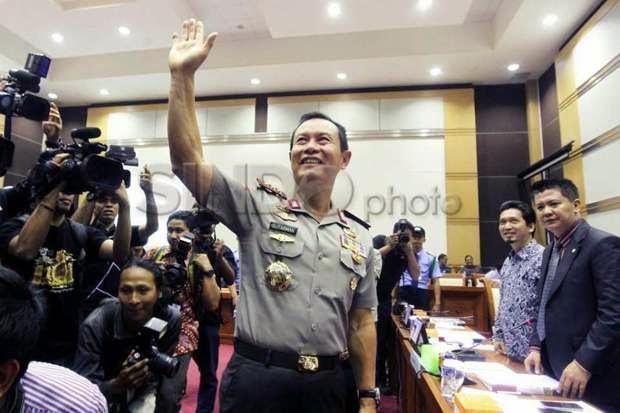 Jokowi Tawarkan Jabatan ke Jenderal Sutarman