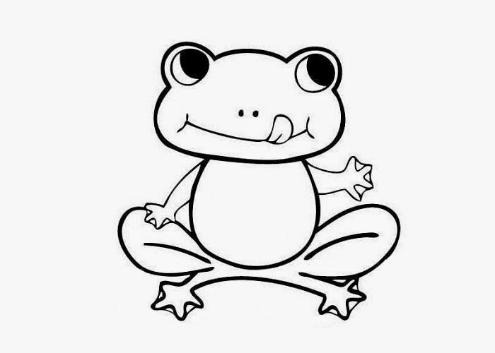 cartoon frog coloring pages - photo#9