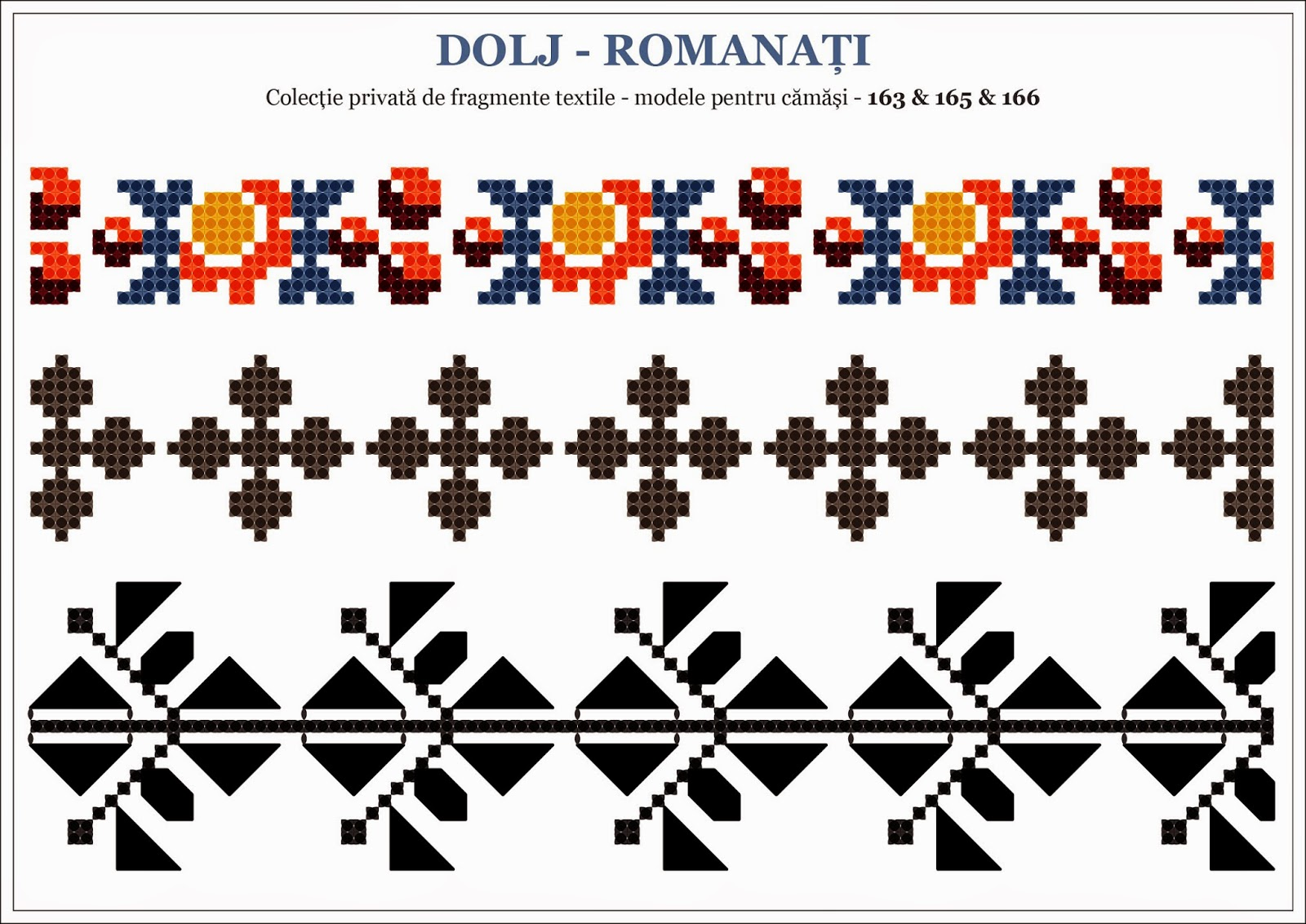 Semne cusute traditional romanian motifs - Beautiful romanian folk motifs ...