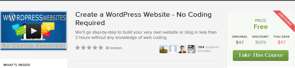 how to create blogspot website for free