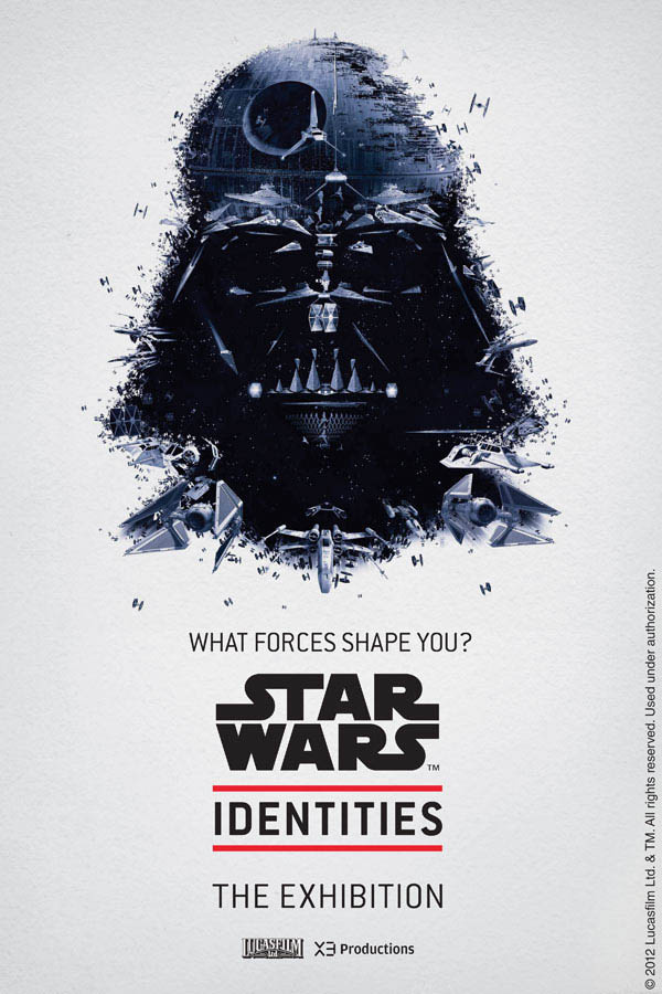 Star Wars Identities by Louis Hébert - DARTH VADER