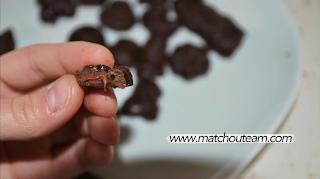 recette chocolat coeur fondant