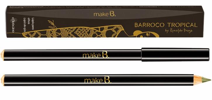 Make B. Barroco Tropical Lápis para Olhos