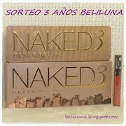 Sorteo naked3 en BeliLuna