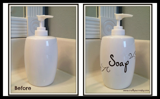 Bathroom Soap Dispenser Update
