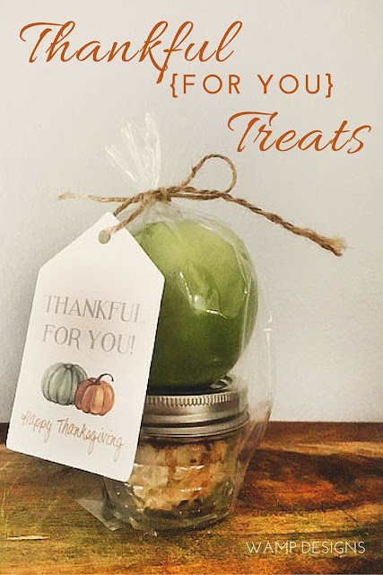 Thankful For You Gift - Wamp Designs