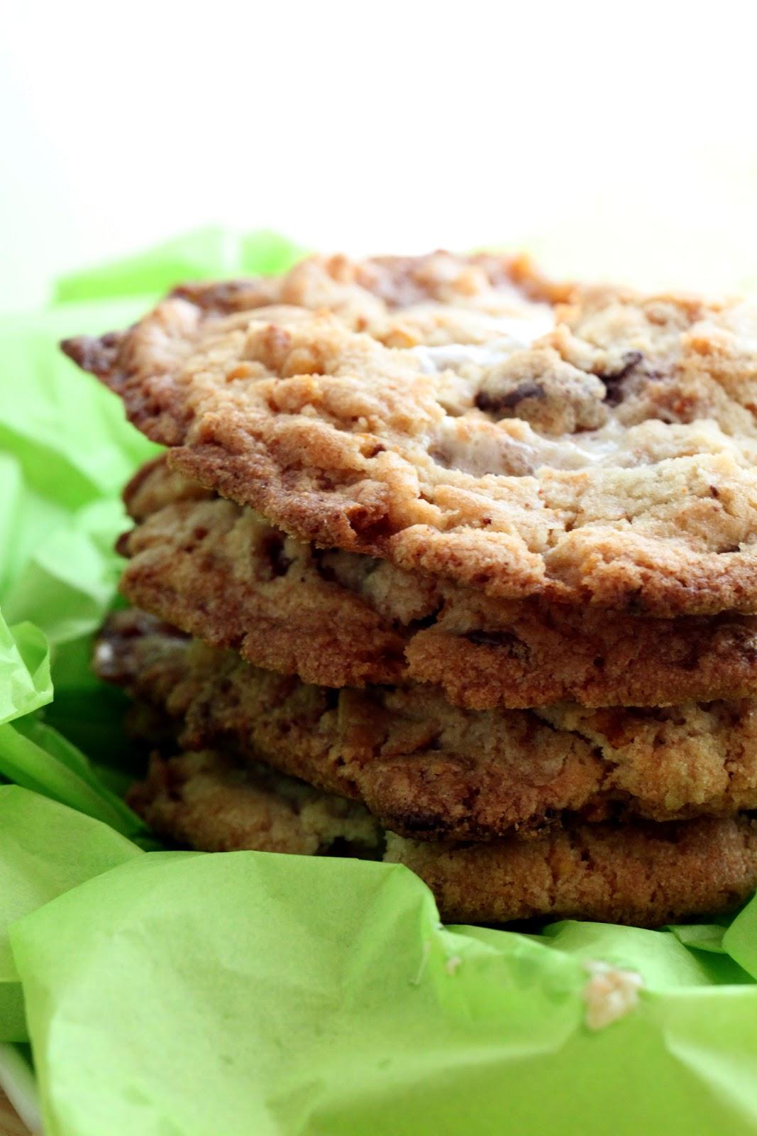 Badger Kitchen: Cornflake, Marshmallow, Chocolate Chip Cookies