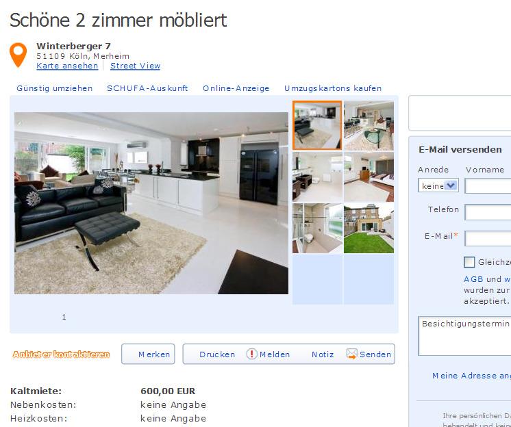 Zimmer Wohnung Berlin Spandau