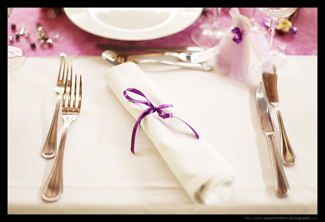 Id et photo d coration mariage photos decor de - Decor de table mariage ...