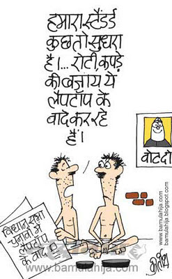 assembly elections 2012 cartoons, poorman, common man cartoon, election cartoon, election 2014 cartoons, indian political cartoon