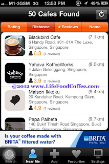 Beanhunter, iphone app