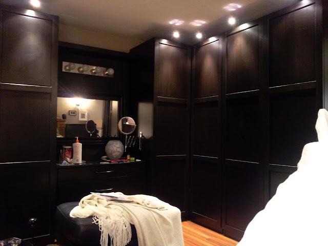 Pax closet built in
