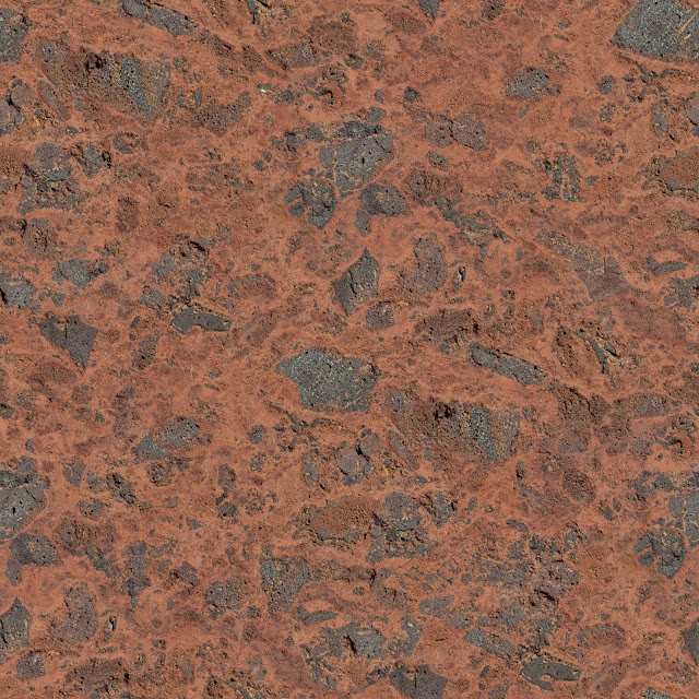 Red stone wall texture seamless