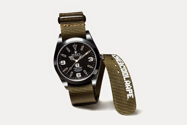 Disappear Here Bape Chocoolate And Bamford Watch Department