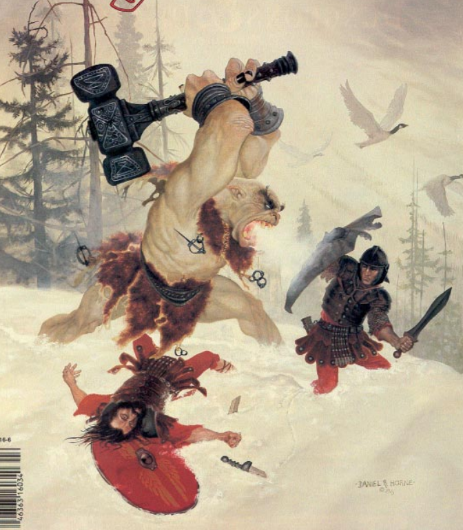 Couverture de Dragon #119 par Daniel Horne