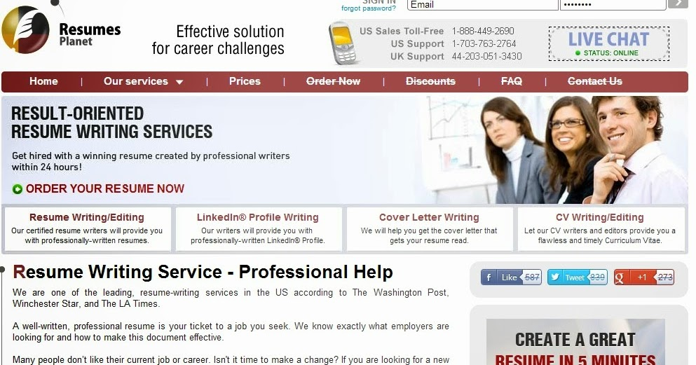 Resume writing services review