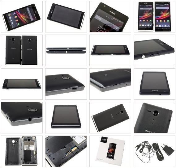 All Views Sony Xperia SP