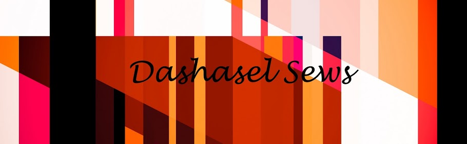 Dashasel sews