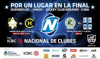 Semifinales del ICBC Nacional de Clubes