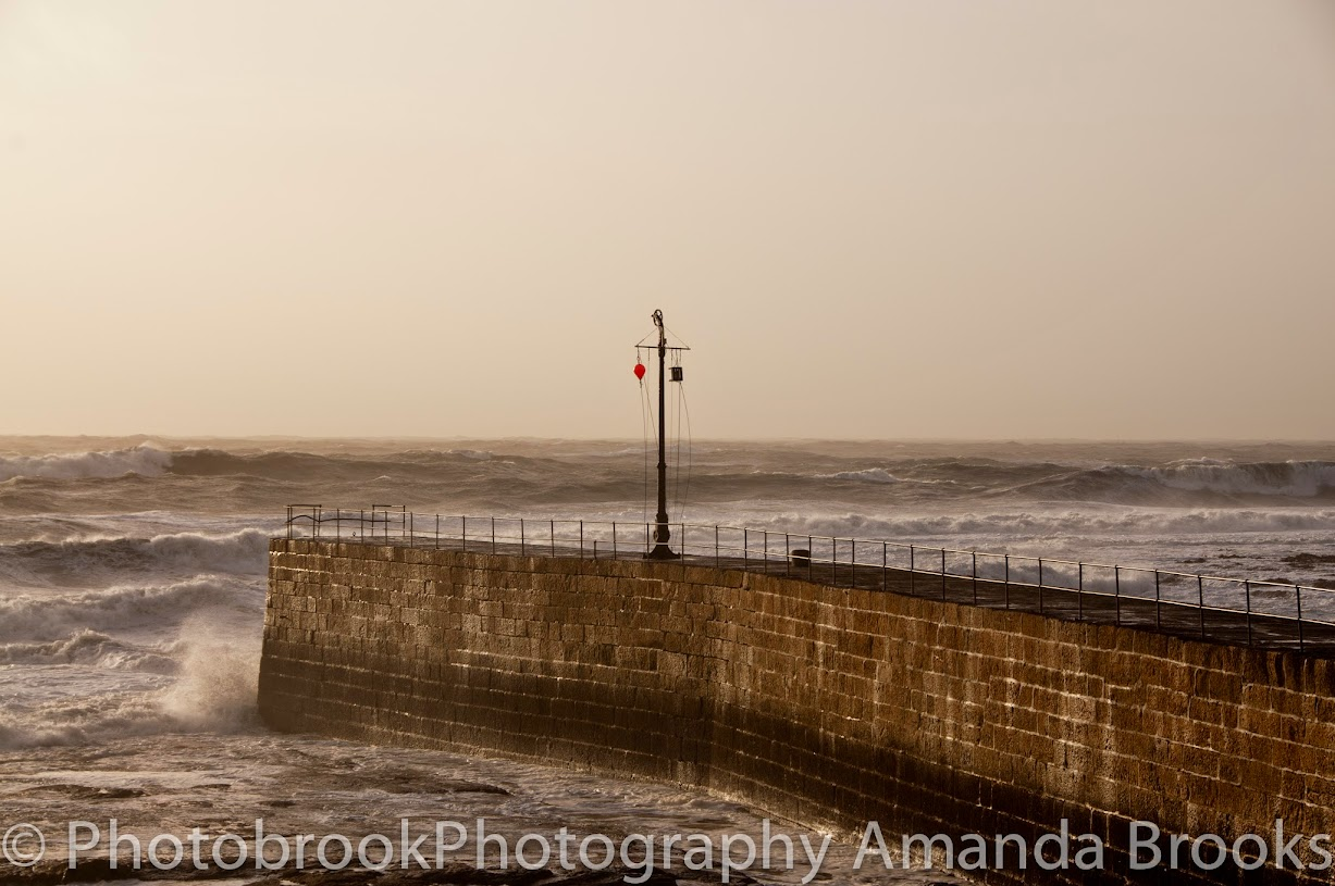 Storm swell hits Porthleven