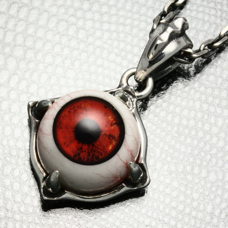 Resin eye jewelry Libro pendant STRANGE FREAK DESIGNS blog