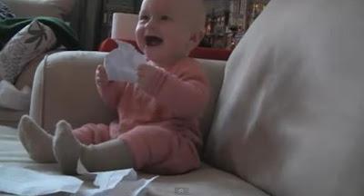 撕紙 微笑嬰