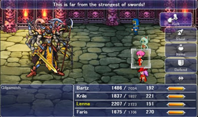 PC games FINAL FANTASY V