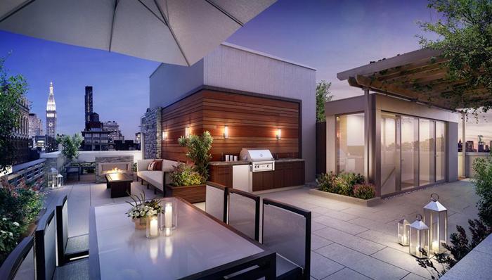 Casas minimalistas y modernas terrazas modernas i for Decoracion terrazas modernas