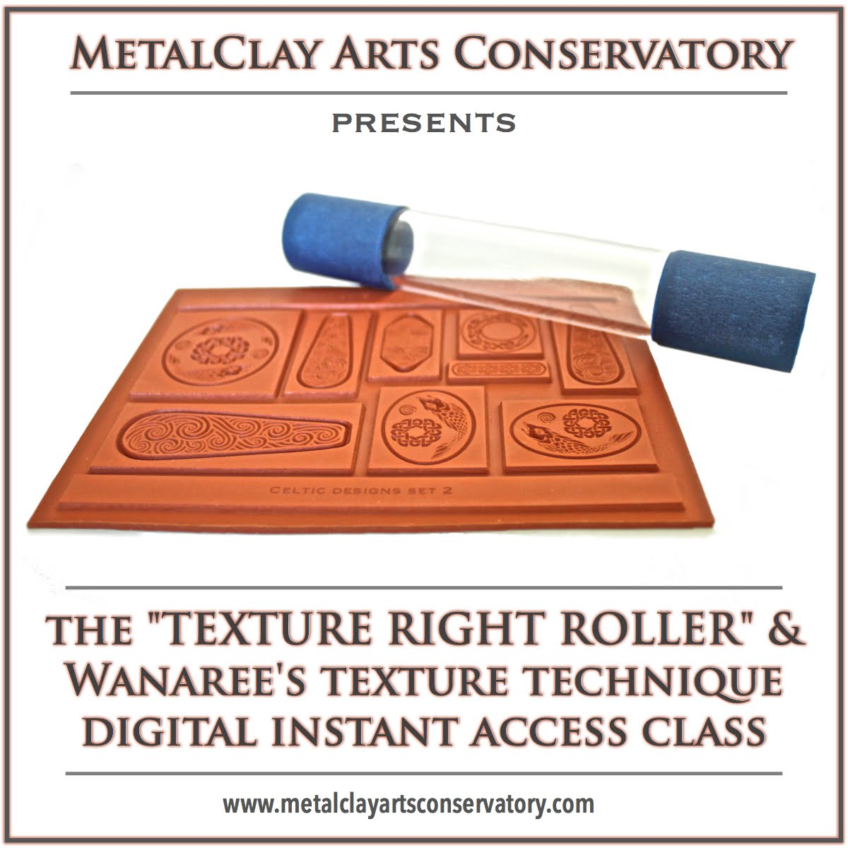 FREE ONLINE CLASS: TEXTURE RIGHT ROLLER