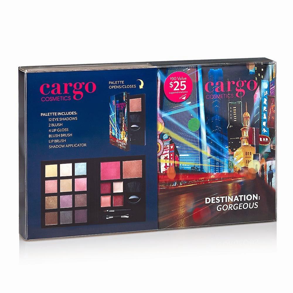 CARGO Cosmetics, Destination Gorgeous Palette, Kohls