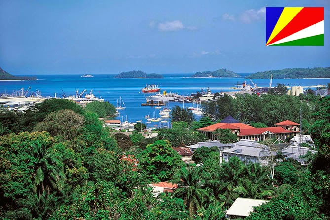 Seychelles - smallest country ranked 9th