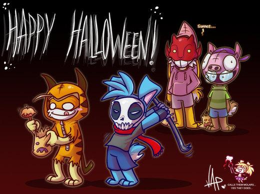 Luv Halloween por vaporotem