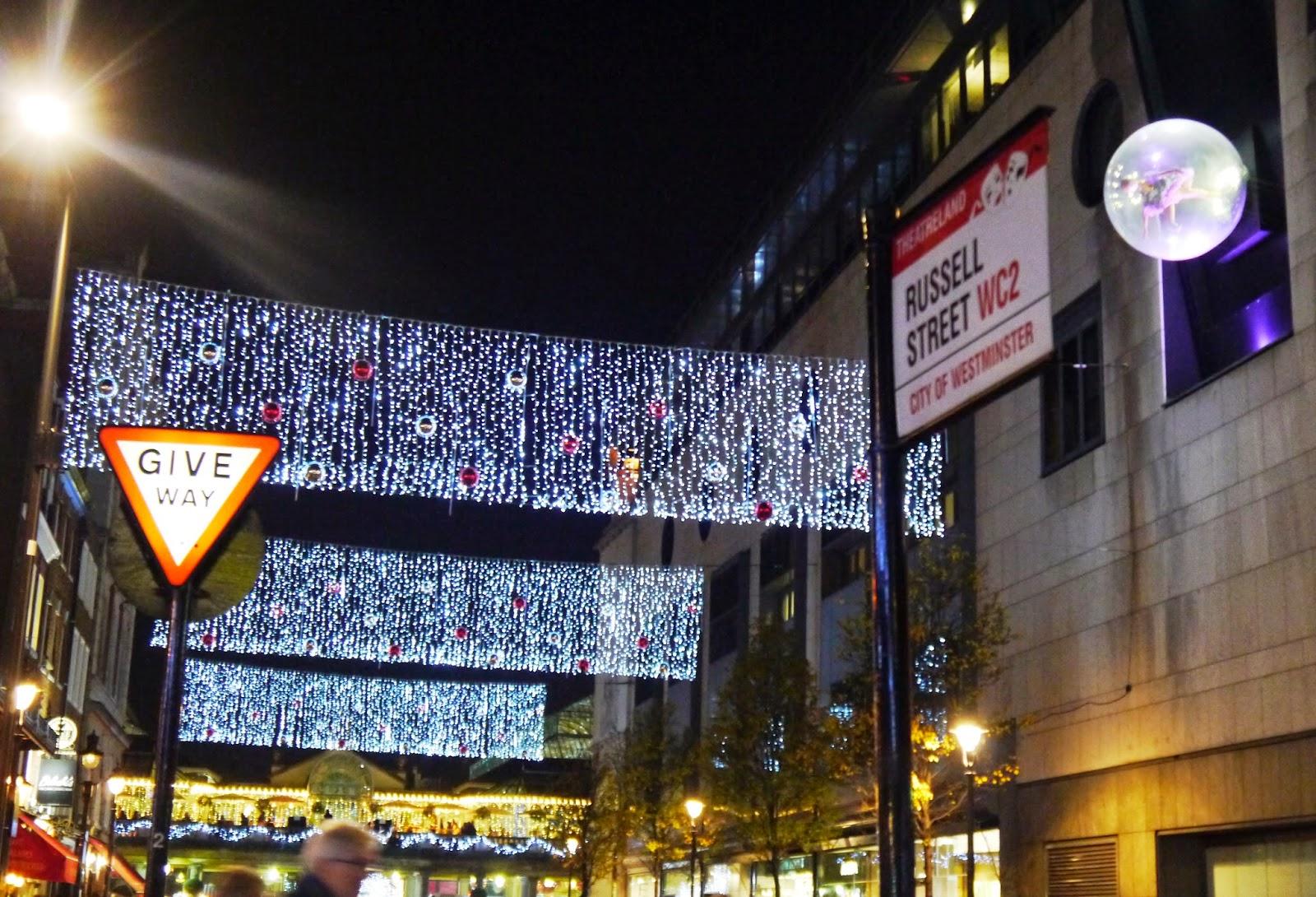 Russell Street Lights