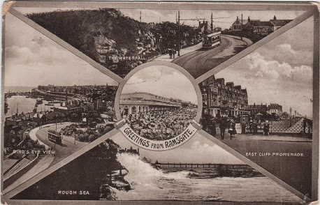 Vintage multiview postcard of Ramsgate