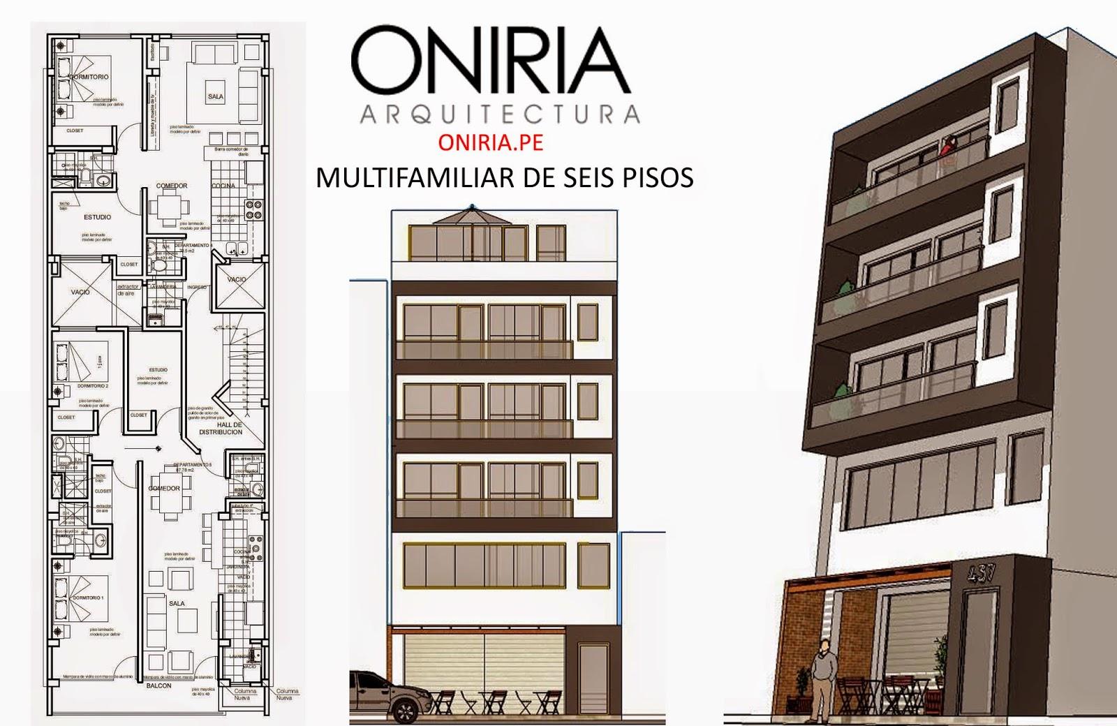 Oniria dise o de viviendas multifamiliares - Diseno de pisos ...