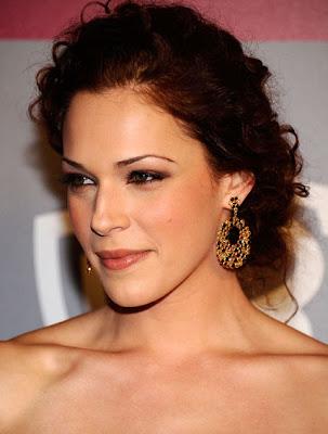 Amanda Righetti Gemstone Hoop Earrings