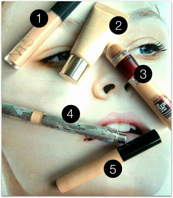 Best Concealers NARS Clarins Maybelline Chantecaille Collection
