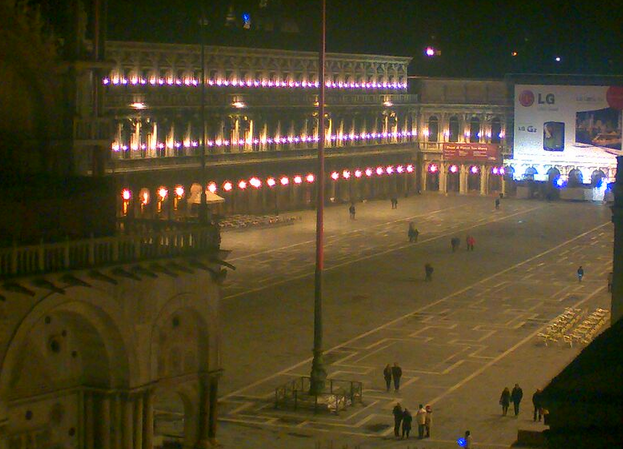 Take a look at Piazza San Marco: