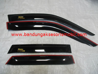 Talang Air Eterna Original Black Depan Belakang