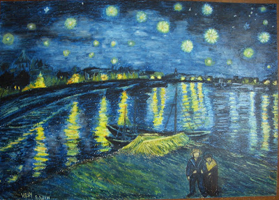 Love you more than starry nights auto design tech for Starry night over the rhone hd