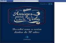 Dia del Amigo Quilmes 2012 en Facebook Amigos para toda la vida, descubrí como se verían dentro de 30 años