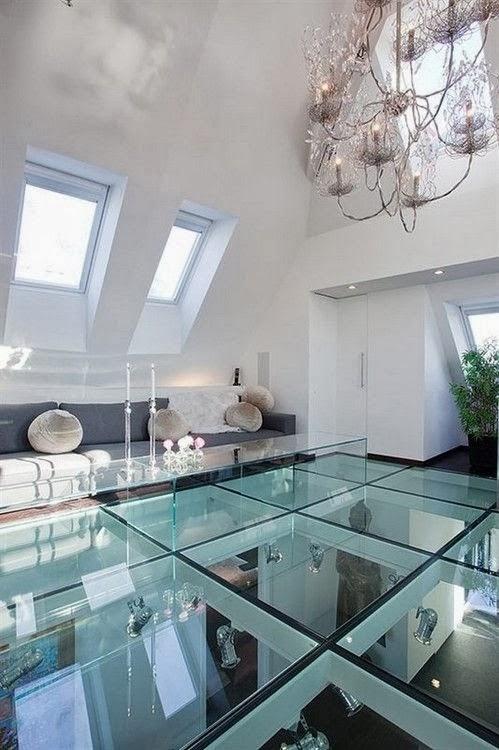 Piso de vidro modernize sua casa decor salteado blog de decora o e arquitetura - Steel structure house plans a world in motion ...