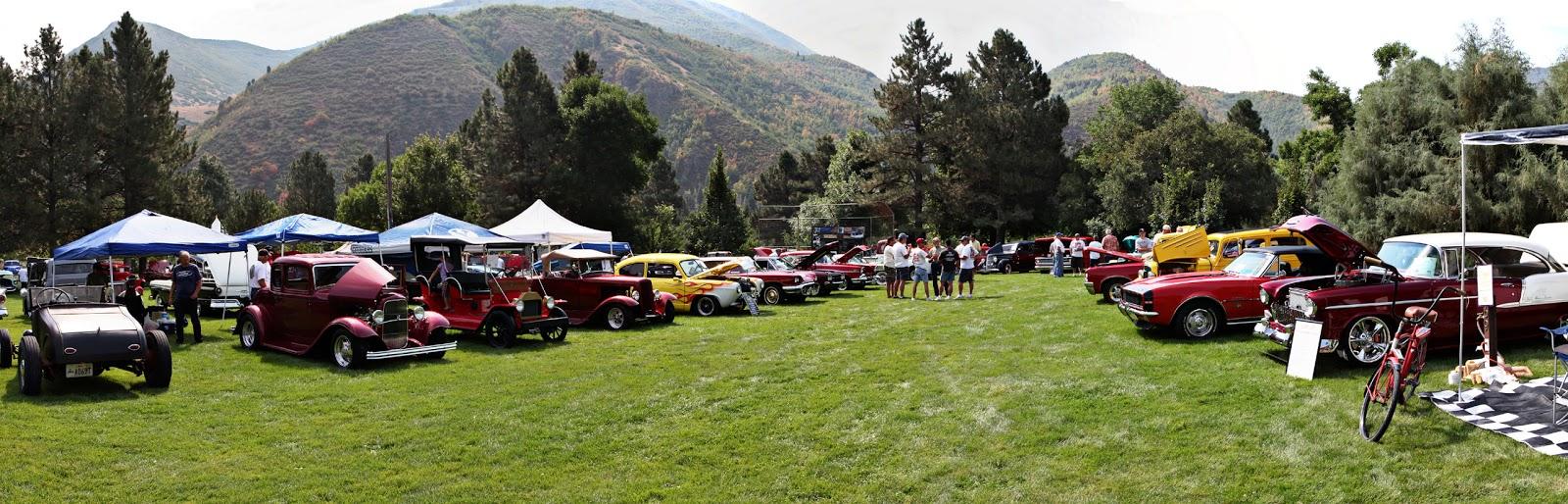 Sunday In The Park Car Show Springville Utah